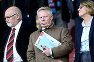England Assistant Manager Sammy Lee takes his seat in the stands. Premier League match, Burnley v Everton at Turf Moor in Burnley , Lancs on Saturday 22nd October 2016.<br /> pic by Chris Stading, Andrew Orchard sports photography.