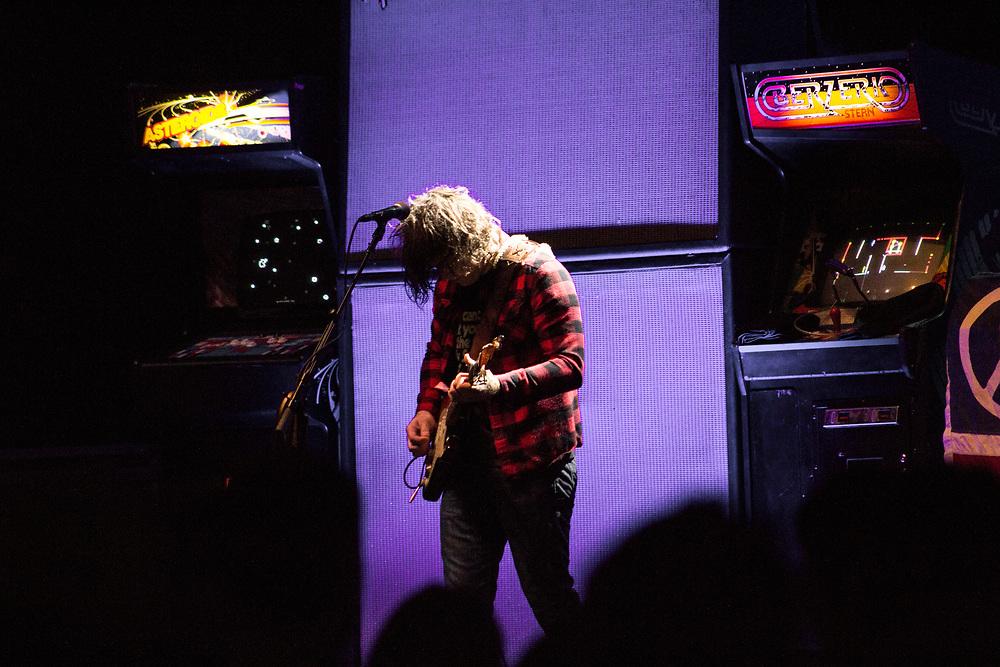 Ryan Adams performing at Summerfest in Milwaukee, WI on July 10, 2016.
