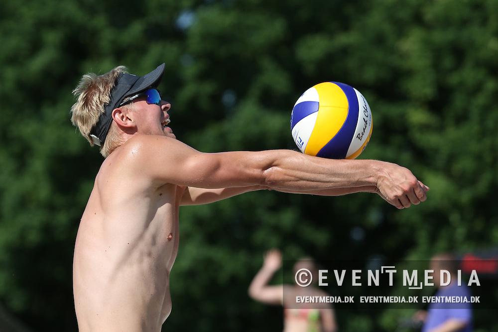 Beachvolley: Odense Grand Slam on the Danish Beachvolley Tour 2015, 5.6.2016 in Odense, Denmark. (EVENTMEDIA).