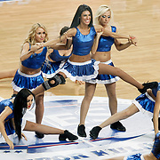Efes Pilsen's show girls during their Turkish Basketball Legague Play-Off semi final second match Efes Pilsen between Fenerbahce at the Sinan Erdem Arena in Istanbul Turkey on Friday 27 May 2011. Photo by TURKPIX