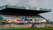 An empty poplar stand during the EFL Sky Bet League 1 match between Bristol Rovers and Ipswich Town at the Memorial Stadium, Bristol, England on 19 September 2020.