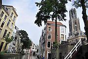 Nederland, Utrecht, 21-8-2012Gezicht op de stad en de domtoren .Foto: Flip Franssen