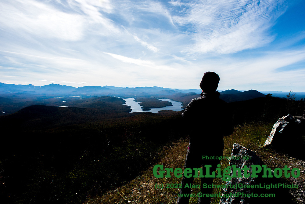 View from White Mountain in the Adirondack Mountains in Upper New York State. Photo by Alan Schwartz/GreenLightPhoto. Please contact GreenLightPhoto for additional information.
