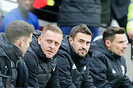 Birmingham City manager Garry Monk during the The FA Cup 3rd round match between West Ham United and Birmingham City at the London Stadium, London, England on 5 January 2019.