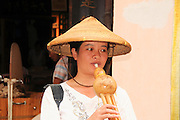 China, Guilin, Yangshuo Portrait of a local woman
