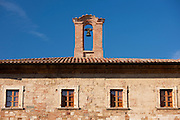 Palazzo del Capitano del Popolo, Palace of the Captain of the People, in Piazza Grande in Montepulciano, Tuscany, Italy