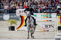 PATTEET Gudrun (BEL), Sea coast coco Berlini<br /> Hagen - Horses and Dreams meets the Royal Kingdom of Jordan 2018<br /> Grosser Preis der DKB Qualifikation DKB-Riders Tour<br /> 30 April 2018<br /> www.sportfotos-lafrentz.de/Stefan Lafrentz