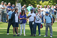 Ian Wright during the Celebrity Pro-Am day at Wentworth Club, Virginia Water, United Kingdom on 23 May 2018. Picture by Phil Duncan.