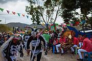 En algunos pueblos de Guerrero se realizan ceremonias de petición de lluvias donde las danzas y la música tiene un lugar importante.