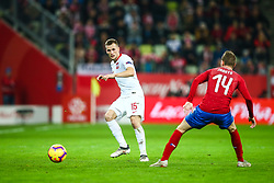 November 15, 2018 - Gdansk, Poland - Tomasz Kedziora of Poland,Jakub Jankto of Czech Republic during the international friendly soccer match between Poland and Czech Republic at Energa Stadium in Gdansk, Poland on 15 November 2018. (Credit Image: © Foto Olimpik/NurPhoto via ZUMA Press)