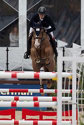 Haelterman Damien, (BEL), Elaba de Laubry <br /> Grans Prix CSI 2*<br /> Longines Global Champions Tour - Antwerp 2015<br />  © Hippo Foto - Dirk Caremans<br /> 25/04/15