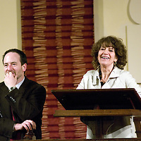 Susie Orbach<br /> On stage at the Stoke Newington Literary Festival. 27 January 2010<br /> <br /> Picture by David X Green/Writer Pictures