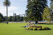 Royal Botanic Gardens at Sydney Harbour Australia