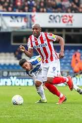 March 9, 2019 - London, England, United Kingdom - Stoke City's Benik Afobe during the second half of the Sky Bet Championship match between Queens Park Rangers and Stoke City at Loftus Road Stadium, London on Saturday 9th March 2019. (Credit Image: © Mi News/NurPhoto via ZUMA Press)
