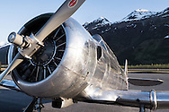 AT-6 at the Valdez fly-in & Air Show in Valdez, Alaska. May 10 and 11, 2014. Photos by Scott Dickerson.