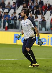 June 4, 2018 - Turin, Italy - Mattia Perin  during the International Friendly match between Italy v Holland at the Allianz Stadium on June 4, 2018 in Turin, Italy. (Credit Image: © Loris Roselli/NurPhoto via ZUMA Press)