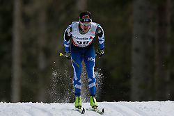 13.12.2014, Davos, SUI, FIS Langlauf Weltcup, Davos, 15 km, Herren, im Bild Sami Jauhojaervi (FIN) // during Cross Country, 15km, men at FIS Nordic world cup in Davos, Switzerland on 2014/12/13. EXPA Pictures © 2014, PhotoCredit: EXPA/ Freshfocus/ Christian Pfander<br /> <br /> *****ATTENTION - for AUT, SLO, CRO, SRB, BIH, MAZ only*****