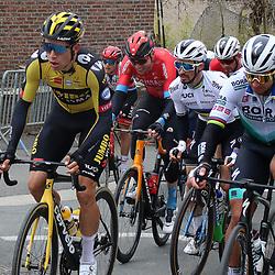 04-04-2021: Wielrennen: Ronde van Vlaanderen (Mannen): Oudenaarde<br />Wout van Aert; Julian Alaphillipe; Peter Sagan
