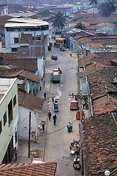 Street Scene From Above