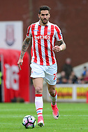 Geoff Cameron of Stoke city.  Premier league match, Stoke City v West Ham Utd at the Bet365 Stadium in Stoke on Trent, Staffs on Saturday 29th April 2017.<br /> pic by Bradley Collyer, Andrew Orchard sports photography.