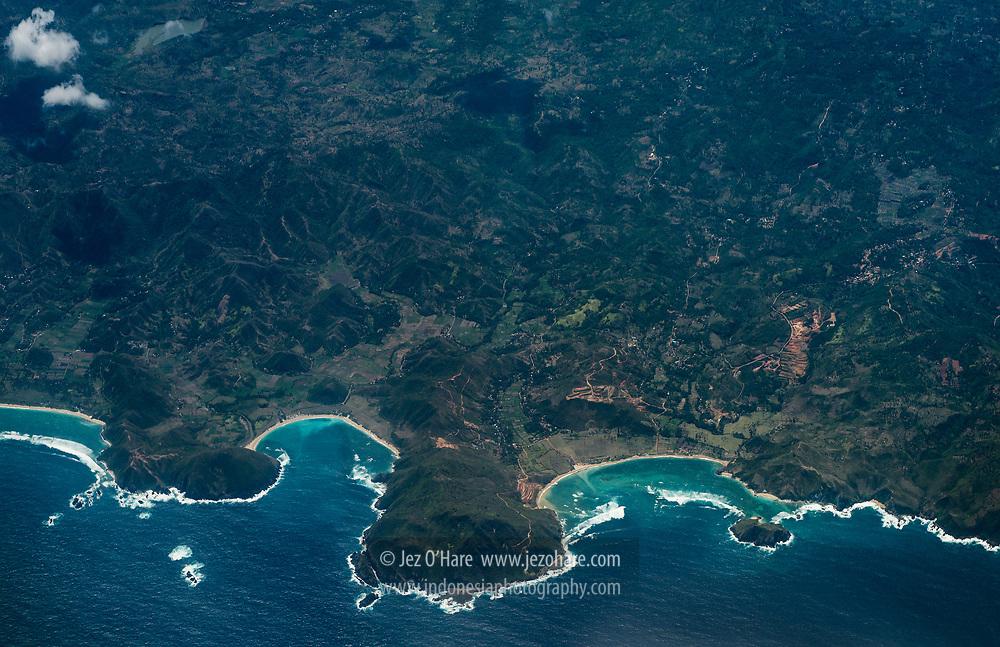 Mawun & Are Guling, South coast of Lombok, Nusa Tenggara Barat, Indonesia
