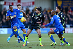 Liam Sercombe of Bristol Rovers controls the ball - Mandatory by-line: Robbie Stephenson/JMP - 17/02/2018 - FOOTBALL - Cherry Red Records Stadium - Kingston upon Thames, England - AFC Wimbledon v Bristol Rovers - Sky Bet League One