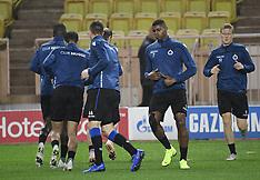 Brugge vs AS Monaco - Practice - 05 Nov 2018