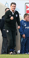 Photo: Mark Stephenson.<br />Coventry City v Queens Park Rangers. Coca Cola Championship. 07/04/2007. QPR's manager John Gregory