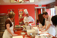 """Lenotre Ecole Culinaire, Paris,..short course - """"Return to the Market"""" with Chef Jacky Legras....photo by Owen Franken for the NY Times..July 12, 2007......."""