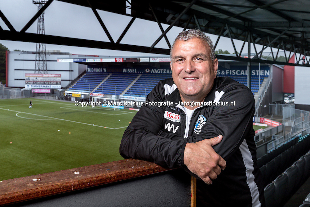 Nederland,  Den Bosch, trainer coach van voetbalclub FC Den Bosch, Wiljan Vloet.