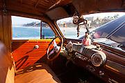 Retro Classic Woody Car