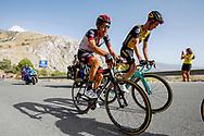 Fabio Aru (ITA - UAE Team Emirates) during the UCI World Tour, Tour of Spain (Vuelta) 2018, Stage 4, Velez Malaga - Alfacar Sierra de la Alfaguara 161,4 km in Spain, on August 28th, 2018 - Photo Luca Bettini / BettiniPhoto / ProSportsImages / DPPI