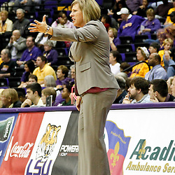 December 13, 2011; Baton Rouge, LA; UCLA Bruins head coach Cori Close against the LSU Lady Tigers during the first half of a game at the Pete Maravich Assembly Center.  Mandatory Credit: Derick E. Hingle-US PRESSWIRE