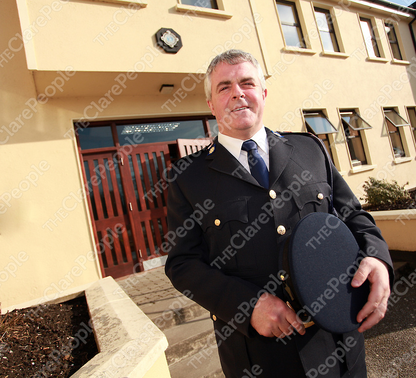 Chief Superintendent John Kerin.<br /> Photograph by Yvonne Vaughan