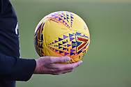 EFL SKYBET more match ball during the EFL Sky Bet League 1 match between Portsmouth and Blackpool at Fratton Park, Portsmouth, England on 24 February 2018. Picture by Adam Rivers.