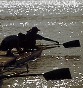Barcelona,  SPAIN, 1992 Olympic Regatta. Lake Banyoles, Nr Barcelona SPAIN,  [Photo, Peter Spurrier/Intersport-images]..       {Mandatory Credit: © Peter Spurrier/Intersport Images]....