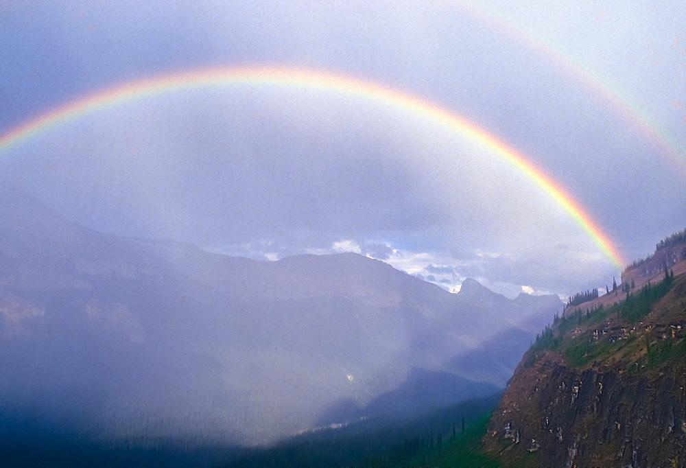 Rainbow, Yoho National Park, British Columbia, Canada