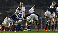 during the Under 20s Six Nations Championship match between England and France at the American Express Community Stadium, Brighton and Hove, England on 20 March 2015. Photo by Phil Duncan.