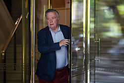 © Licensed to London News Pictures. 29/08/2019. London, UK. Conservative MP KEN CLARKE is seen at Milbank Studio in Westminster. The government has asked the Queen to suspend Parliament in the days after MPs return to work in September - a few weeks before the Brexit deadline of October 31st. Photo credit: Ben Cawthra/LNP