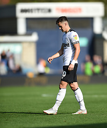 Derby County's Tom Lawrence at full time