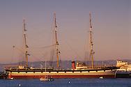 The Balclutha, c. 1886 square-rigged ship, San Francisco National Maritime Historic Park,  San Francisco, California