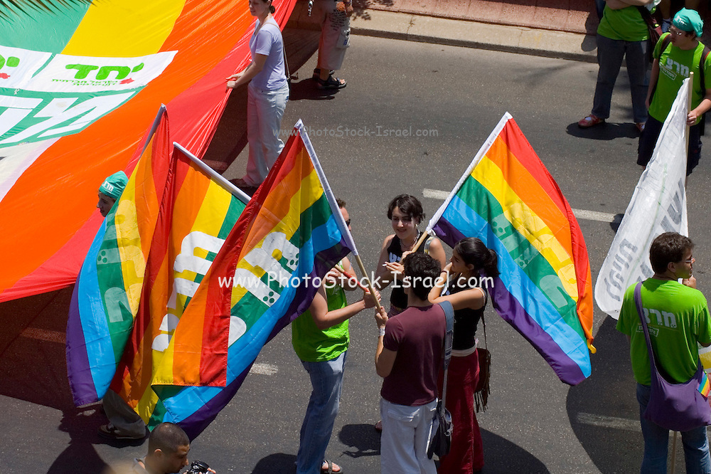 Israel, Tel Aviv, Gay Pride Parade, June 2007