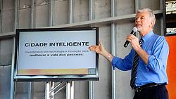 José Fortunati durante apresentação do Centro Integrado de Comando da Cidade de Porto Alegre FOTO: Jefferson Bernardes/Preview.com
