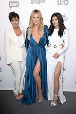 FILE: Khloe Kardashian, Kylie Jenner & Kris Jenner - 27 Sep 2017
