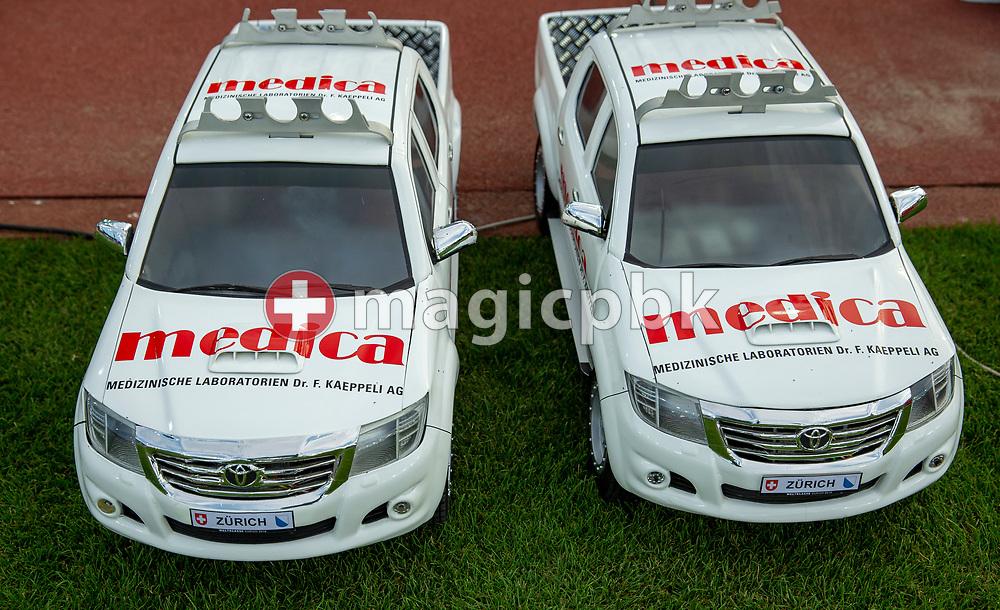 Medica Cars during the Iaaf Diamond League meeting (Weltklasse Zuerich) at the Letzigrund Stadium in Zurich, Switzerland, Thursday, Aug. 29, 2019. (Photo by Patrick B. Kraemer / MAGICPBK)