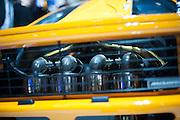 Geneva Motorshow 2013 - Mclaren F1 engine detail. , MP4-28