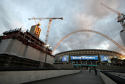 A general view of Wembley Stadium before the Premier League match between Tottenham Hotspur and Manchester City. PRESS ASSOCIATION Photo. Picture date: Monday October 29, 2018. See PA story SOCCER Tottenham. Photo credit should read: Nick Potts/PA Wire.