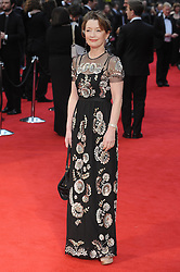 Lesley Manville attends The Olivier Awards 2016 at the Royal Opera House in London. 3rd April 2016. EXPA Pictures © 2016, PhotoCredit: EXPA/ Photoshot/ Paul Treadway<br /> <br /> *****ATTENTION - for AUT, SLO, CRO, SRB, BIH, MAZ, SUI only*****