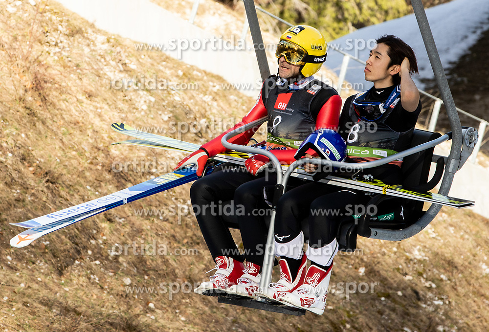 Dmitriy Vassiliev (RUS) and Naoki Nakamura (JPN) during the Ski Flying Hill Individual Competition at Day 2 of FIS Ski Jumping World Cup Final 2019, on March 22, 2019 in Planica, Slovenia. Photo by Masa Kraljic / Sportida