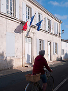 The Mairie (Town Hall) at Les Portes-en-Ré, Île de Ré, France